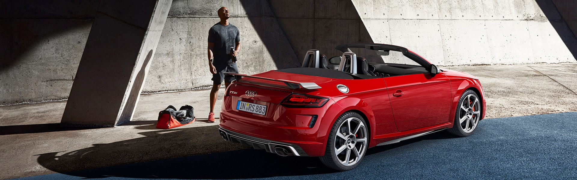 The all new Audi TT RS Roadster