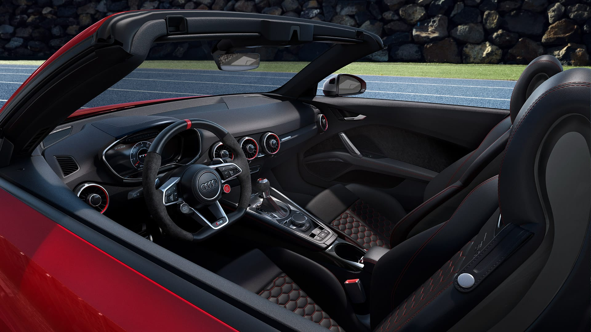 Interior Audi TT RS Roadster